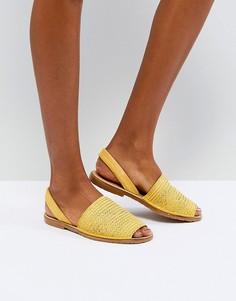 Желтые сандалии Kaltur - Желтый