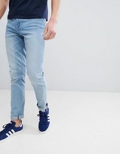 Голубые джинсы скинни ASOS DESIGN - Синий