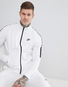 Белая спортивная куртка Nike Tribute 861648-100 - Белый