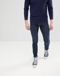 Темно-синие джинсы скинни Lee Jeans Luke - Синий