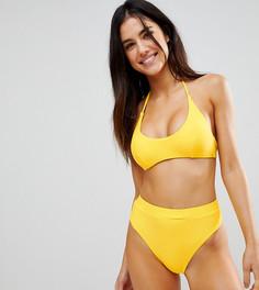 Трусы бикини с классической талией South Beach - Желтый