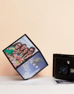 Вращающаяся кубическая фоторамка Polaroid - Мульти Fizz Creations