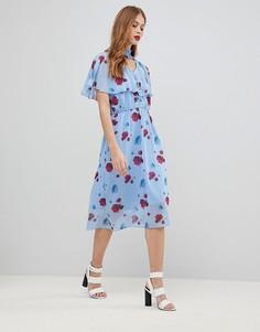 Платье с принтом Y.A.S - Мульти