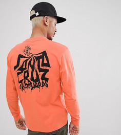 Оранжевый лонгслив Santa Cruz эксклюзивно для ASOS - Оранжевый