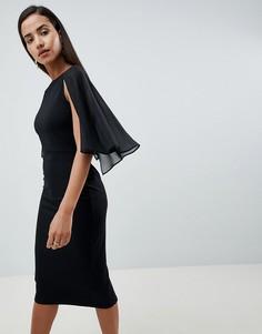 Платье-футляр ASOS DESIGN - Черный