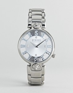 Серебристые наручные часы Versus Versace Kirstenhof VP490518 - 34 мм - Серебряный