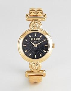 Золотистые часы-браслет 34 мм Versus Versace Sunnyridge VSPOL3418 - Золотой