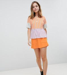 Мини-юбка с карманами Noisy May Petite - Оранжевый
