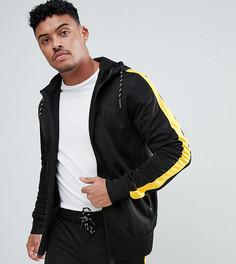 Черно-желтая спортивная куртка с полосками по бокам Good For Nothing эксклюзивно для ASOS - Черный