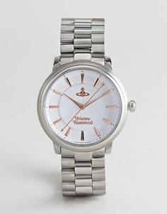 Серебристые наручные часы Vivienne Westwood VV196SLSL Shoreditch - Серебряный