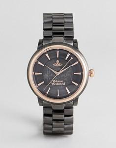 Черные наручные часы Vivienne Westwood VV196GNGN Shoreditch - Черный