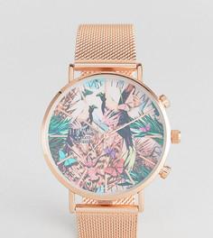 Часы цвета розового золота Reclaimed Vintage Inspired эксклюзивно для ASOS - Золотой