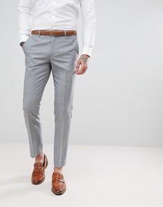 Однотонные брюки скинни Harry Brown - Синий