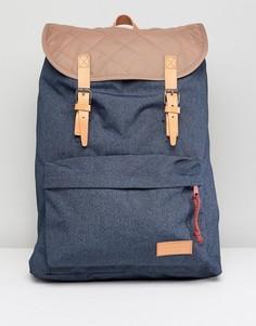 Рюкзак со стеганой отделкой Eastpak London - Синий