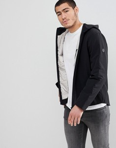 Легкая дутая куртка с капюшоном Esprit - Черный