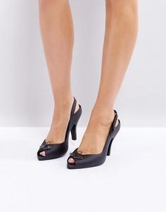 Босоножки на каблуке Vivienne Westwood for Melissa Lady - Бежевый
