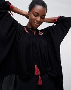 Блузка с кисточками Raga Avalon - Черный