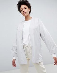 Куртка-кимоно с поясом Waven Imma Unisex - Серый