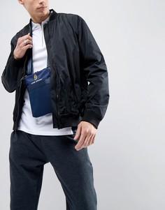 Темно-синяя нейлоновая сумка для полетов Luke Sport Fletcher - Темно-синий