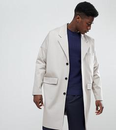 Светло-бежевое легкое хлопковое пальто Noak - Светло-бежевый