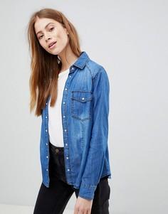 Джинсовая рубашка Pimkie - Синий