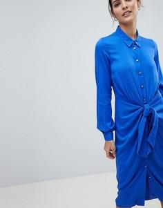 Платье-рубашка Closet - Синий