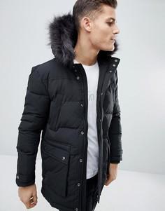 Дутая куртка Calvin Klein Parker - Черный