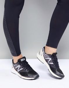 Черно-розовые кроссовки New Balance Running Strobe - Черный