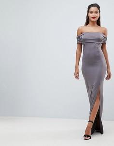 Платье макси AX Paris - Серый