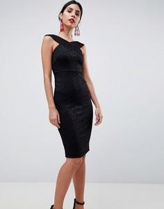 Платье-футляр AX Paris - Черный