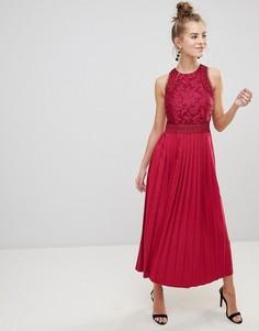 Платье с кружевом Little Mistress - Розовый