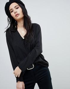 Свободная блузка в горошек Soaked In Luxury - Мульти