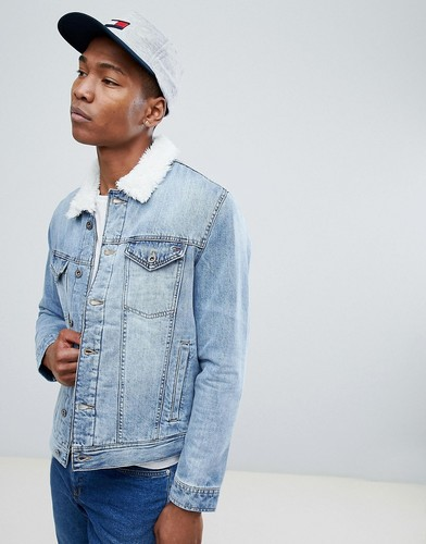 Светлая джинсовая куртка Tommy Hilfiger - Синий