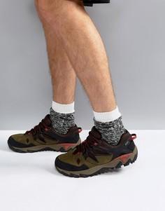 Походные кроссовки Merrell All Out Blaze 2 GTX - Зеленый