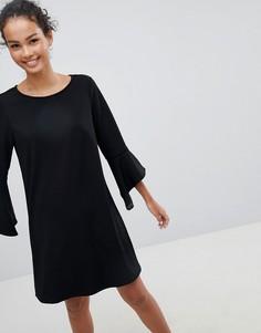 Платье с расклешенными рукавами JDY Bernadette - Черный