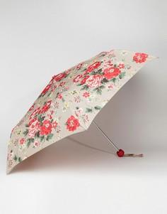 Зонт овсяного цвета с розами Cath Kidston Minilite 2 - Мульти