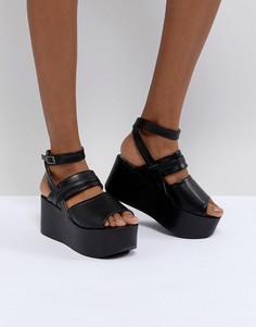 Черные сандалии на платформе RAID Devona - Черный