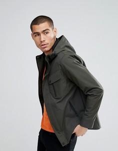 Куртка Харрингтон с нагрудным карманом Brave Soul - Зеленый