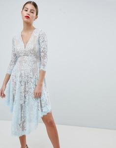 Кружевное платье Forever Unique - Синий