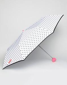 Черно-белый зонт Bombay Duck Bisous - Белый