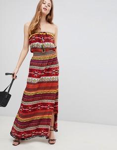 Платье макси с узором Glamorous - Мульти