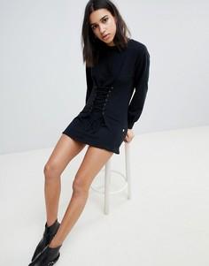 Платье-свитер NYTT - Черный