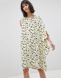 Асимметричное платье А-силуэта Vero Moda - Мульти
