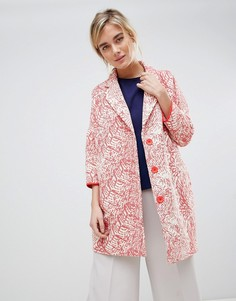 Oversize-пальто See U Soon - Красный