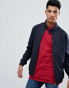 Куртка Харрингтон Threadbare - Темно-синий