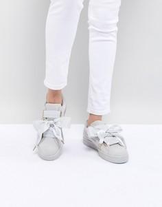 Замшевые кроссовки Puma - Белый