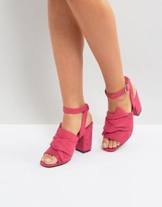 Босоножки на каблуке Park Lane - Розовый