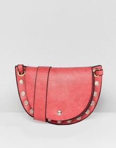 Красная гибридная сумка-кошелек на пояс и через плечо Yoki Fashion - Красный
