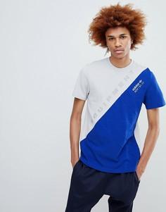 Oversize-футболка adidas Originals - Синий