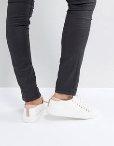 Кроссовки с заклепками Carvela - Белый